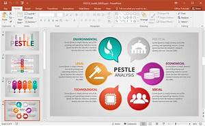 animated pestle analysis presentation template for powerpoint With pestel analysis template word