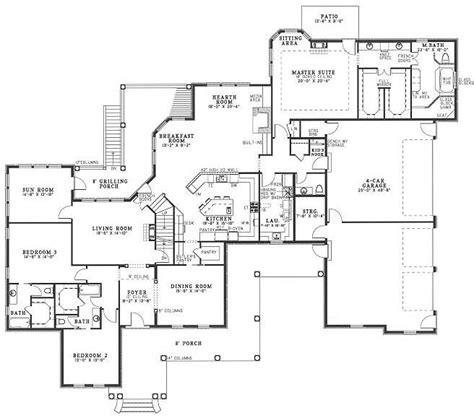 sunroom floor plans ranch house plans with sunroom house plan 2017
