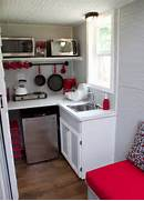 Dealing With Built In Kitchens For Small Spaces Small Space Resources Tiny House Listings