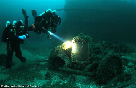 revealed man mummified    diving suit saved
