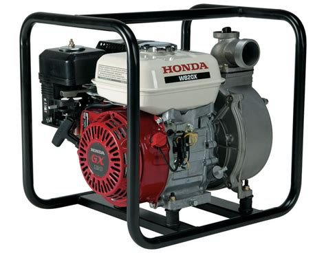 Commercial Use Of Honda Wb20 & Wb30 Water Pumps