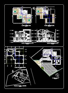 Modern Family House 2D DWG Plan for AutoCAD • Designs CAD