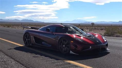 Koenigsegg Agera Rs Top Speed by Koenigsegg Agera Rs Declared World S Fastest Car With A