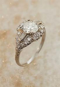 wedding diamond antique art deco diamond ring 2068234 With vintage art deco wedding rings