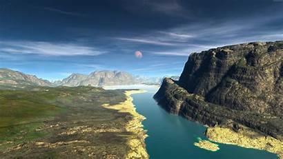 8k Landscape Ultra Wallpapers Backgrounds River Nature