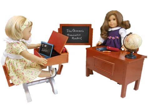 american doll school desk 1930 style school desk furniture accessories for 18