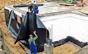 Balkon Abdichten Bitumen : bodenplatte abdichtung w nde mauern abdichten ~ Michelbontemps.com Haus und Dekorationen