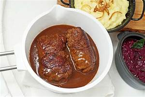 Mehlig Kochende Kartoffeln Rezepte : rinderrouladen mit kartoffel p ree und blaukraut schmeck ~ Lizthompson.info Haus und Dekorationen