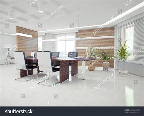 modern interiors images concept modern office interior design concept stock illustration