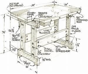 Popular Mechanics Workbench Plans PDF Woodworking