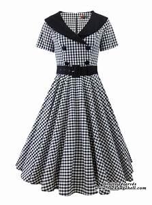 Robe Retro Année 50 : robe retro vintage rockabilly ann es 50 39 hell bunny bridget ~ Nature-et-papiers.com Idées de Décoration