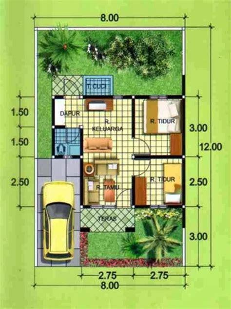 buat pasangan muda berjuang desain rumah minimalis
