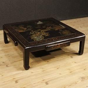 Table Basse Chinoise : recherche table basse laque de chine antiquites en france ~ Melissatoandfro.com Idées de Décoration