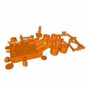 3D print the Mars Curiosity Rover