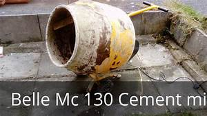 Belle Cement Mixer    Concrete Mixer Repair Mc130  Drum Mixer Ring Gear Repair  Mini Mix    Master