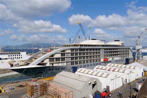 Floating Boat Hotel Gibraltar by Gibdock Prepares Five Floating Hotel Ship