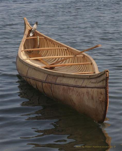 Canoe Boat by Birchbark Canoe Penobscot Bay History