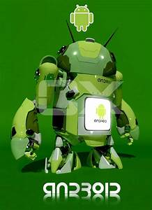 The Best Creative Way To Showcase Android Logo ...  Android