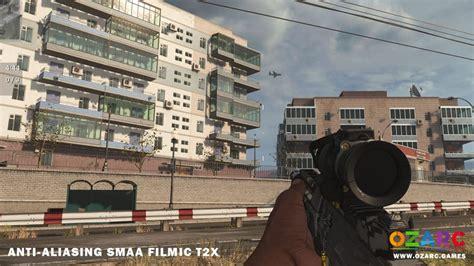 warzone settings cod duty call smaa t2x filmic anti pc aliasing graphic vs