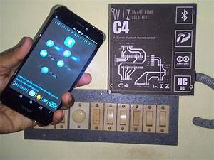 Simple Home Automation Using Bluetooth  Android And