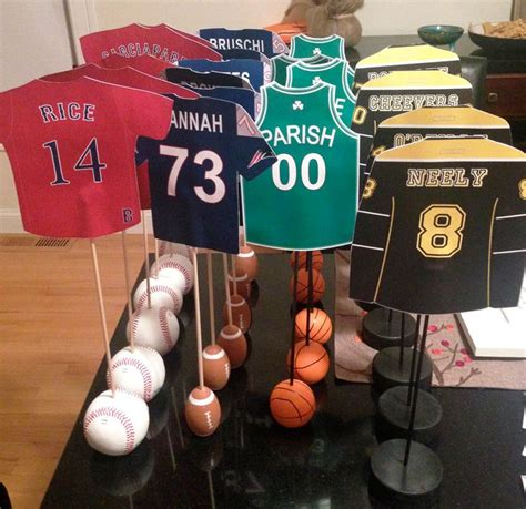 sports centerpieces for tables the 25 best sports centerpieces ideas on pinterest
