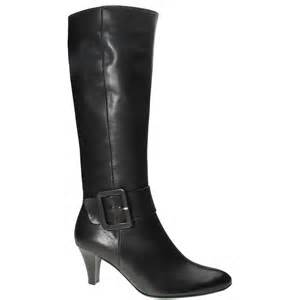 gabor iris black leather buckle detail womens boots gabor from gabor shoes uk