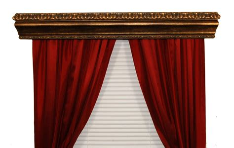 Bcl Drapery Hardware, Double Curtain Rod Cornice, Marion