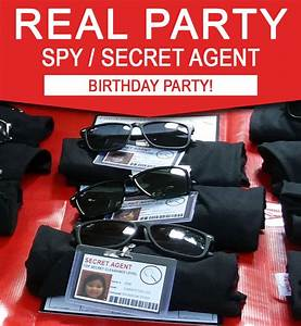 Cooking Party Invitations Sam 39 S 8th Spy Birthday Party Secret Agent Spy Party