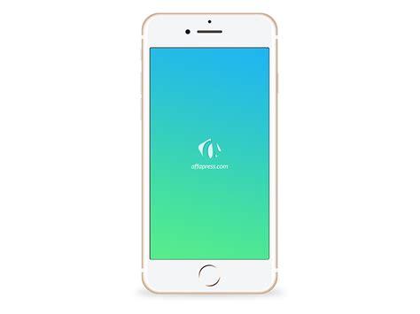 iphone 7 gold free iphone 7 gold psd mockup affapress