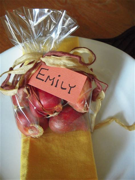 Autumn Dinner Party Favors That Grow  The Event & Party