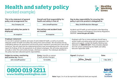 28 health and safety policy template free exiucubiz
