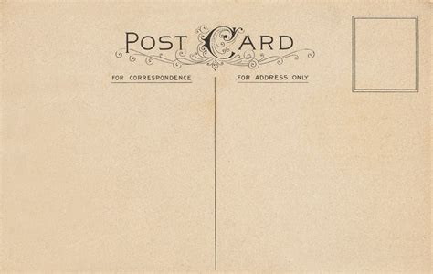 images  vintage postcard templates