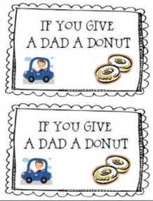 give  dad  donut fathers day book craft