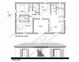 Maison Architecte Plan : plan de maison en u d 39 architecte con u autour d 39 un patio d 39 accueil de facture proven ale et ~ Dode.kayakingforconservation.com Idées de Décoration