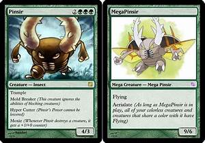 Pinsir and Mega MTG Card by parker1997 on DeviantArt