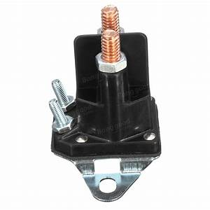 4 Pole Starter Solenoid Relay Switch Universal Stens For