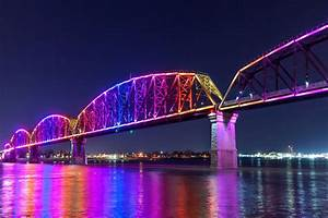 Big Four Bridge Louisville  Kentucky  Usa
