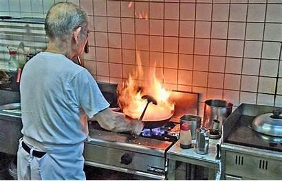 Kitchen Action Fire Chef Wok Kin Town
