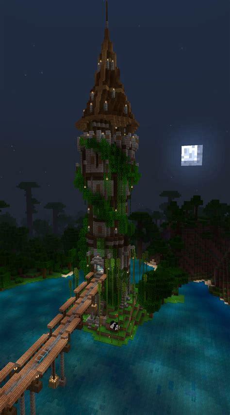 minecraft tower   minecraft plans minecraft jungle house big minecraft houses