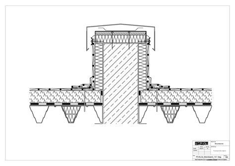 Die Richtige Abdichtung An Der Richtigen Stelle by Bauder Technische Details Flachdach