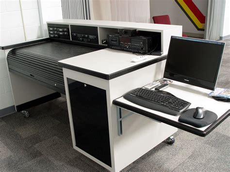 roll top desk for sound mixing boards sound mixing desk on wheels