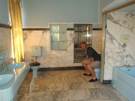 haile selassies bathroom photo