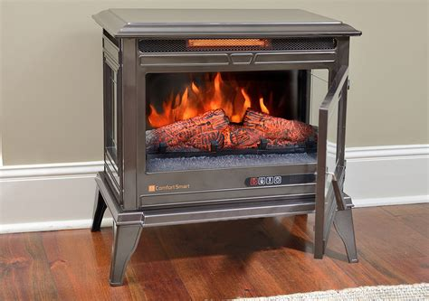 comfort smart jackson bronze infrared electric fireplace