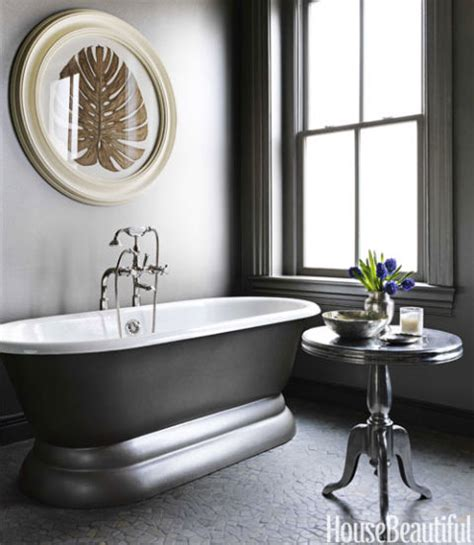 black and silver bathroom ideas 14 best gray bathroom ideas chic gray bathroom design