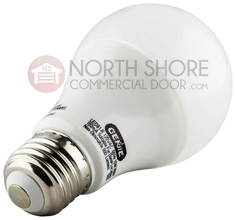 led lights interfere with garage door opener genie 39438r garage door opener led bulb ledb1 r