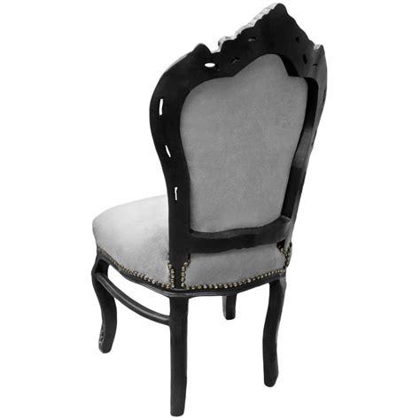 chaise style baroque pas cher chaise baroque noir conceptions de maison blanzza com