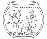 Goldfish Coloring Fische Aquarium Rouge Printable Ausmalbilder Poisson Colorir Ausmalbild Malvorlage Coloringme Coloriage Colorator Peixinho Desenhos Ideen Besten sketch template