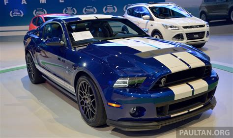 Mustang Shelby Gt500 : Ford Mustang Shelby Gt500 Shown At Klims13