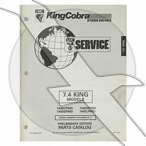 Omc King Cobra 7 4l 454 Engine  U0026 Sterndrive Parts