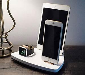 Dockingstation Ipad Und Iphone : nytstnd trio 1 white free shipping charging station for iphone x 8 ipad apple watch apple tv ~ Markanthonyermac.com Haus und Dekorationen